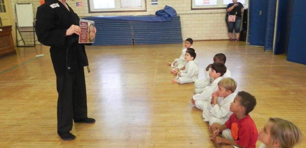 cours d'autodéfense pour enfants